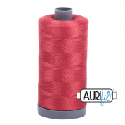Aurifil 28 Cotton Thread - 2230 (Pinky Mid Red)